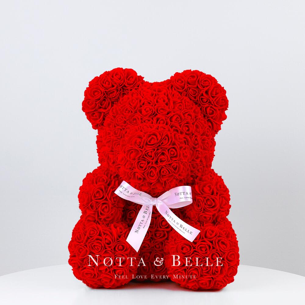 Rot Bären aus den Rosen - 35 sm