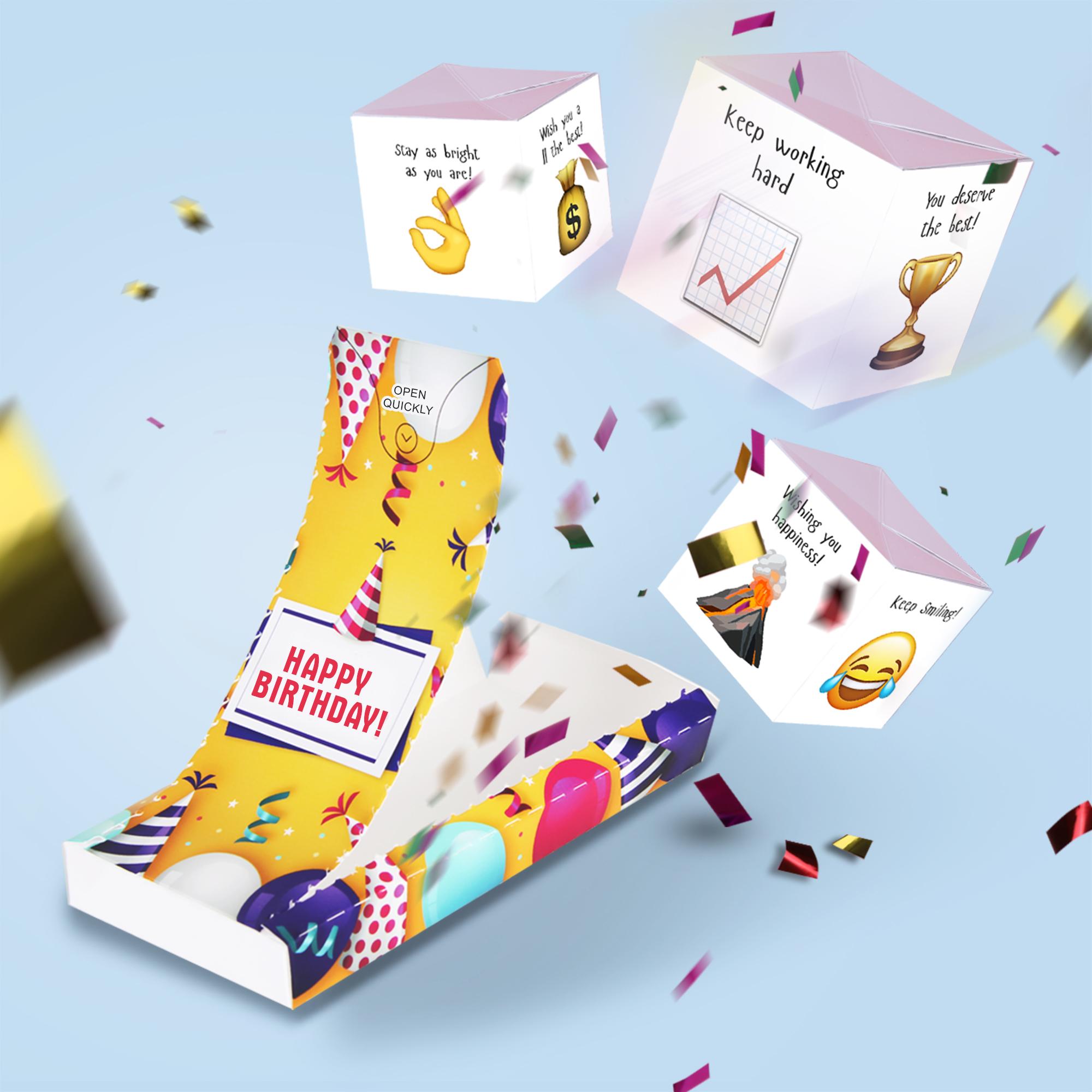 Boom card - Happy Birthday! (3 cubes)