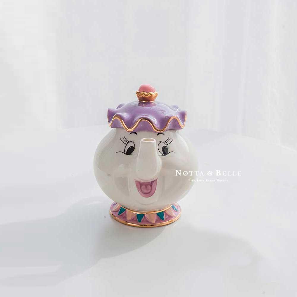 Чайник - Миссис Поттс из мультфильма  «Красавица и чудовище»