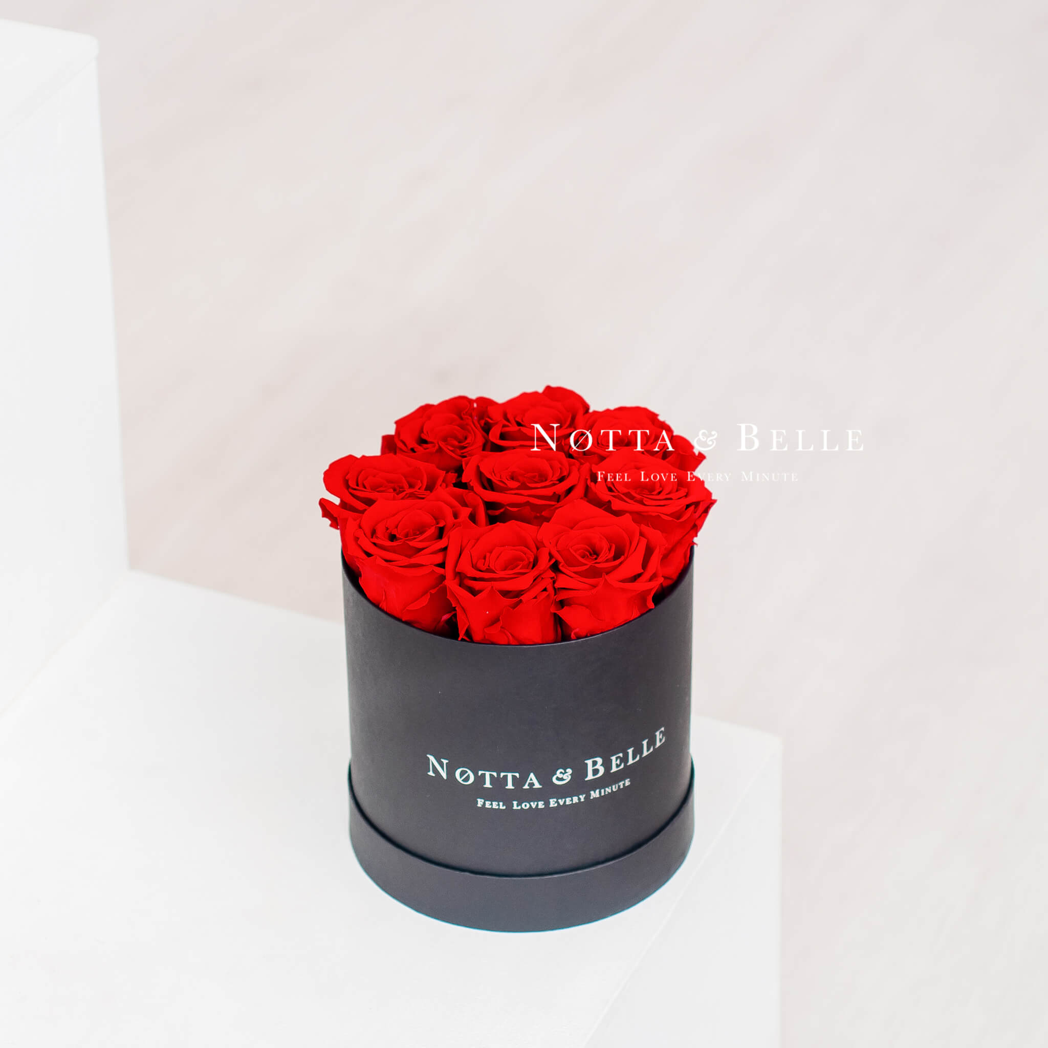 Bouquet rouge «Princess» - Mini Black