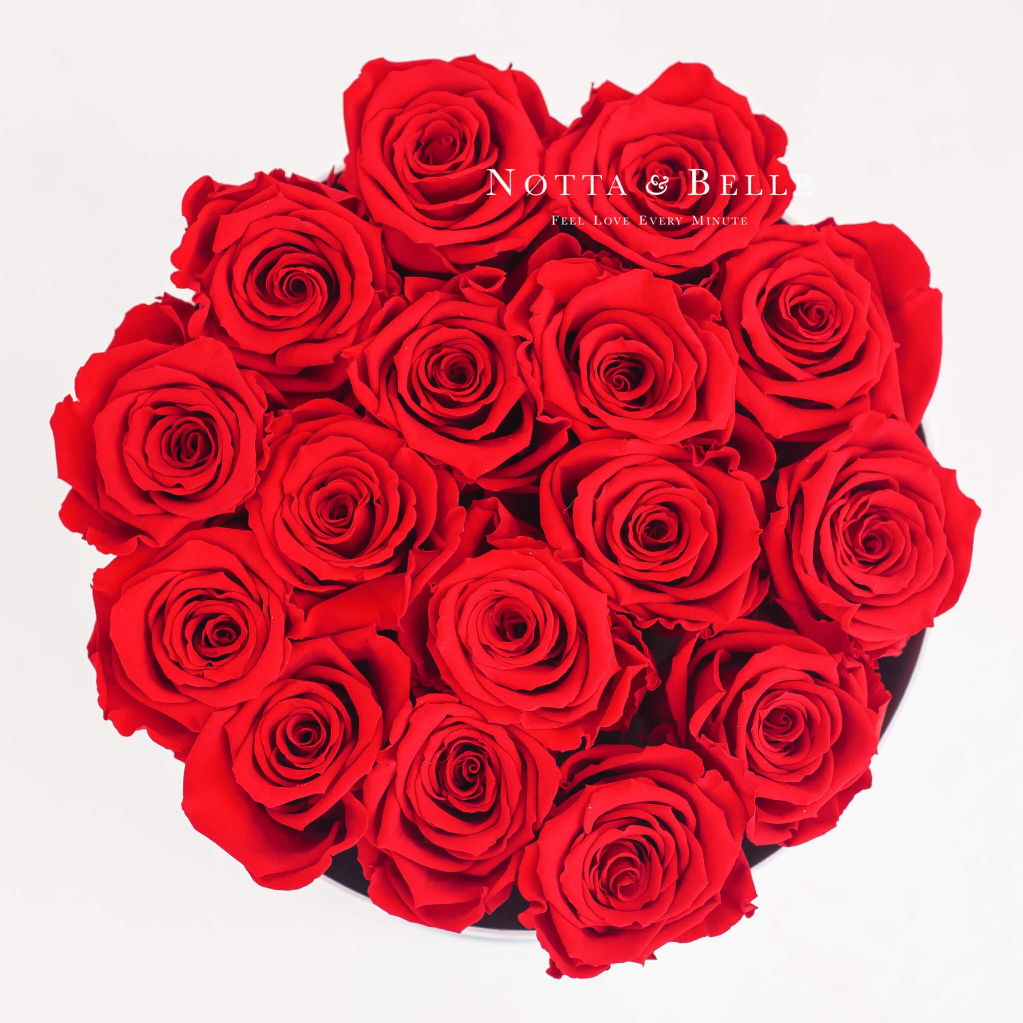 Roter Rosenstrauß «Princess» - Big Black