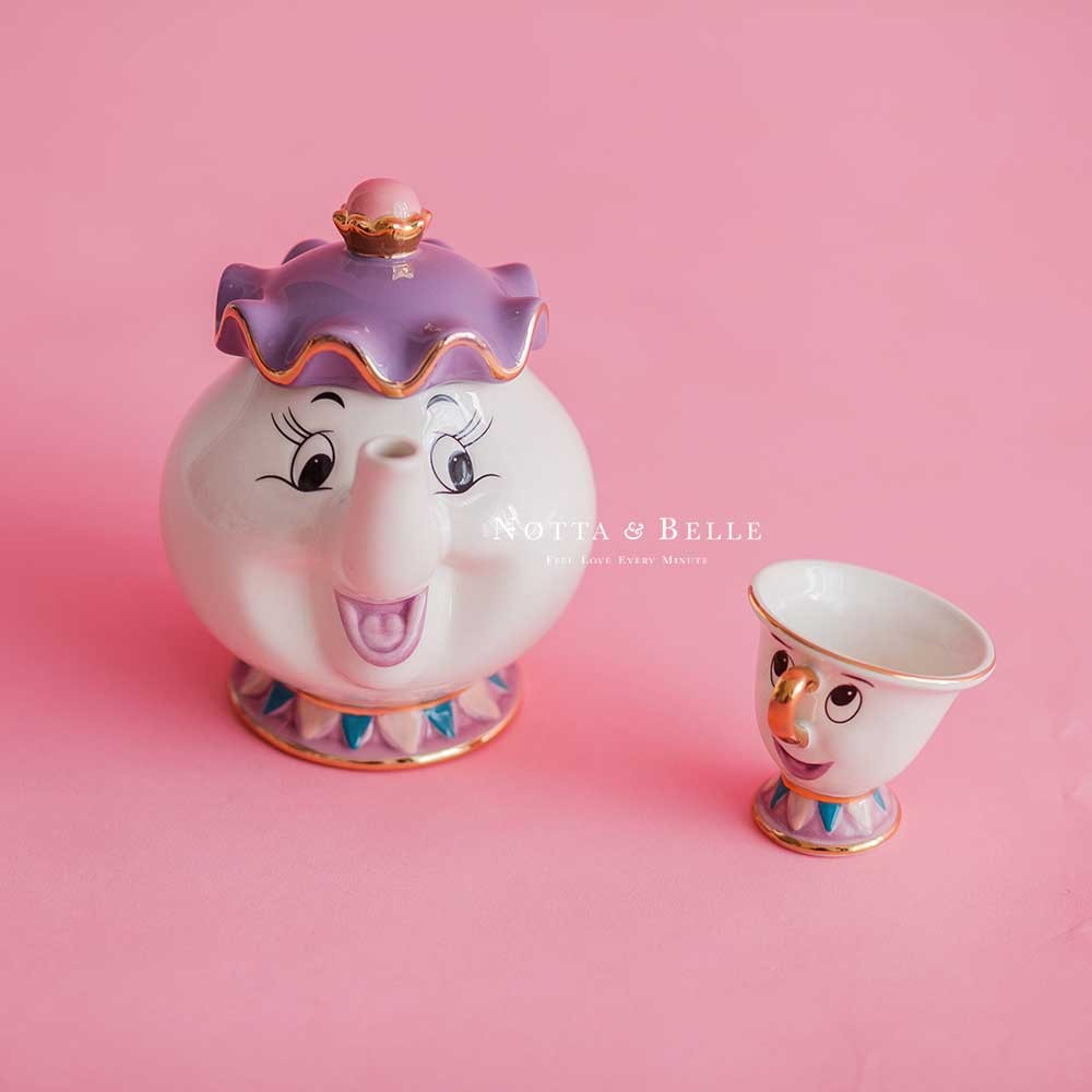 Чайный набор - «Красавица и чудовище» по акции