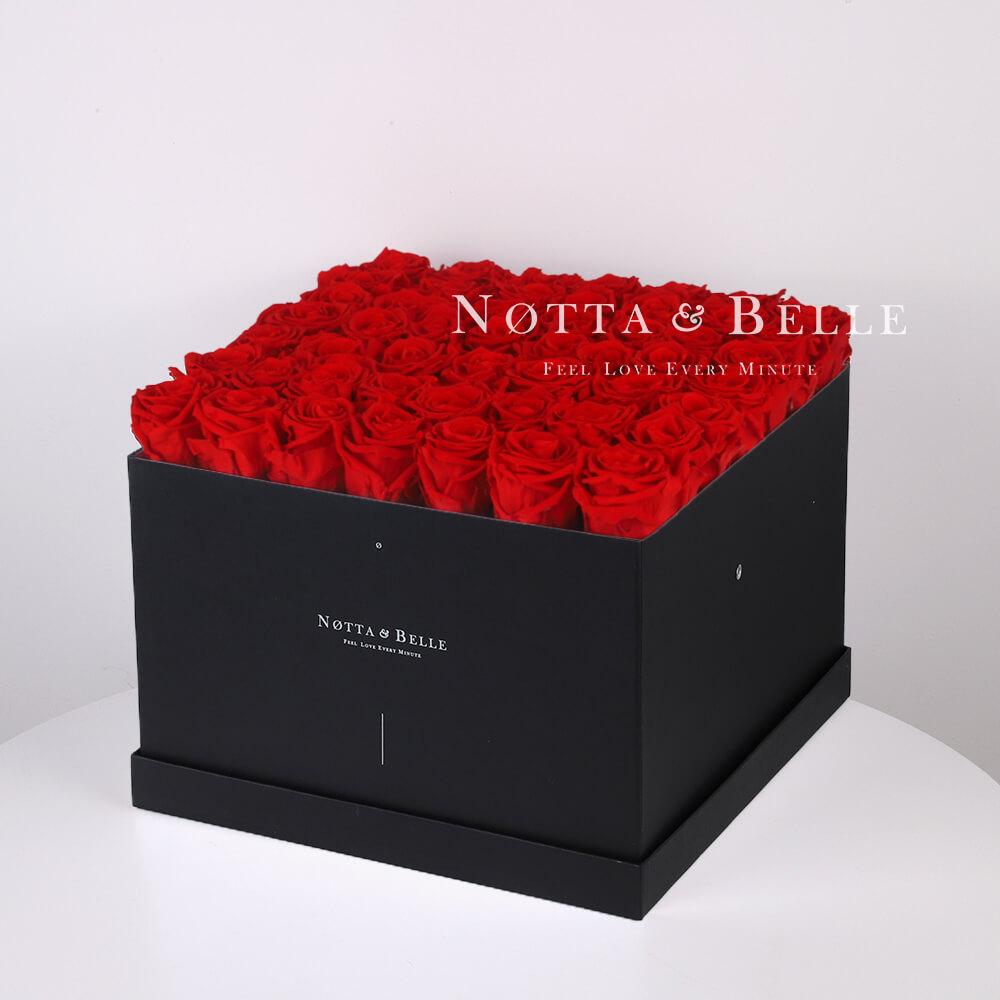 Dolgovechnyy buket iz 49 krasnyh roz - №712