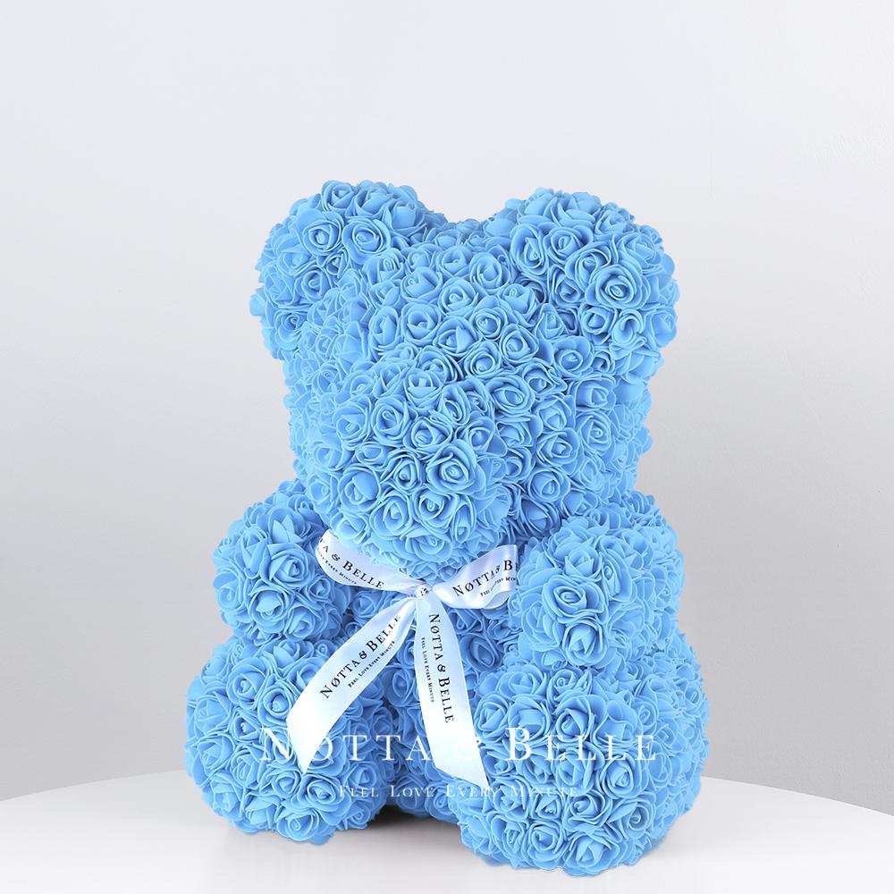 Ourson de roses Bleue - 35сm