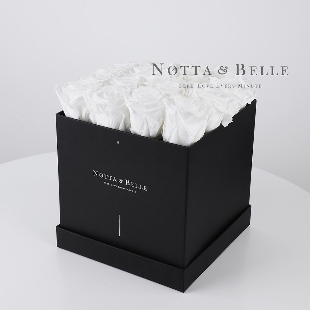 Bouquet blanche «Romantic» - 17 roses