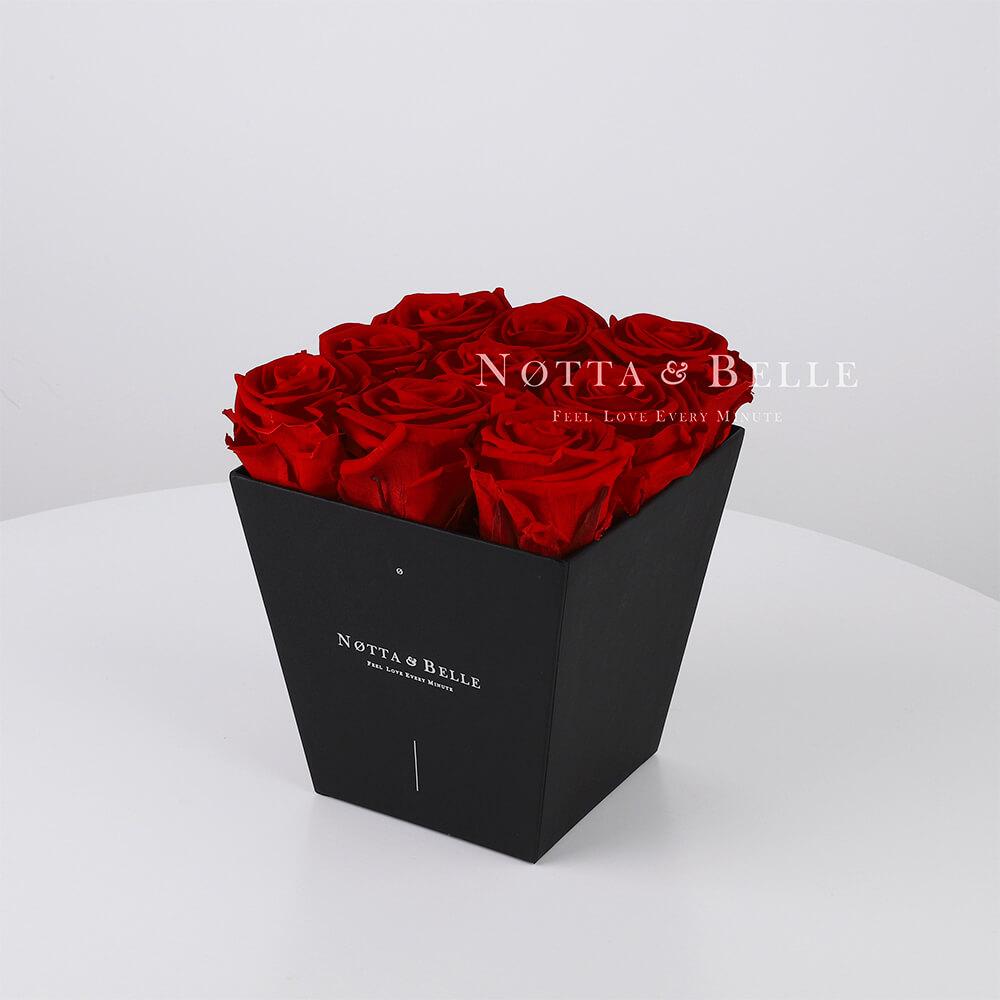 Burgundy bouquet «Forever» - 9 roses
