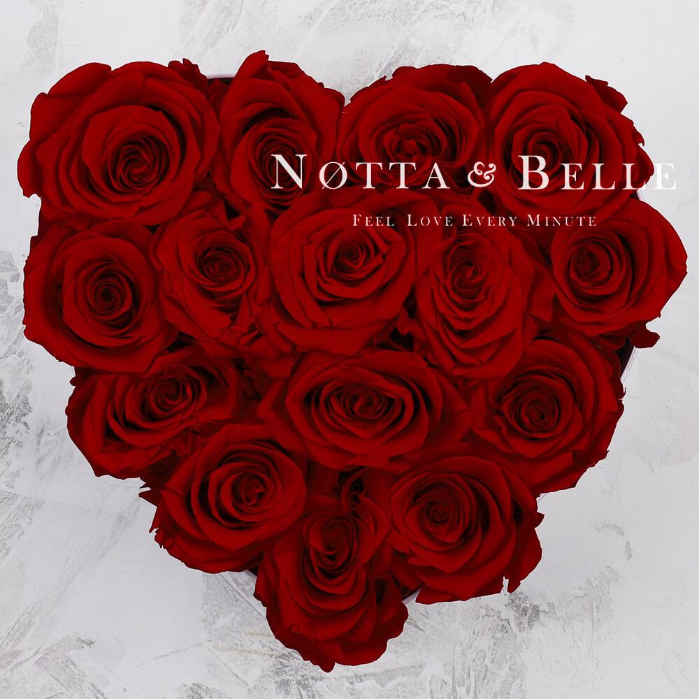 Burgundy bouquet «Love» - 15 roses