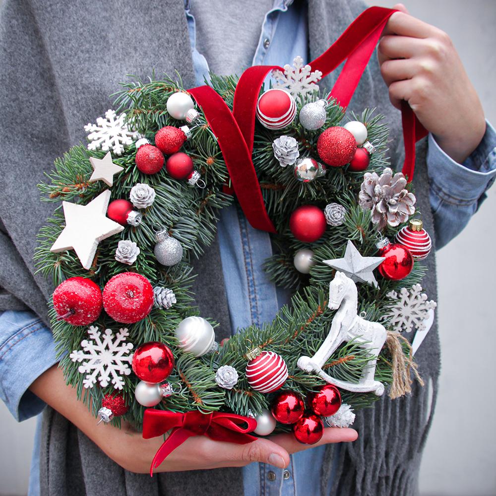 Weihnachtskranz №3