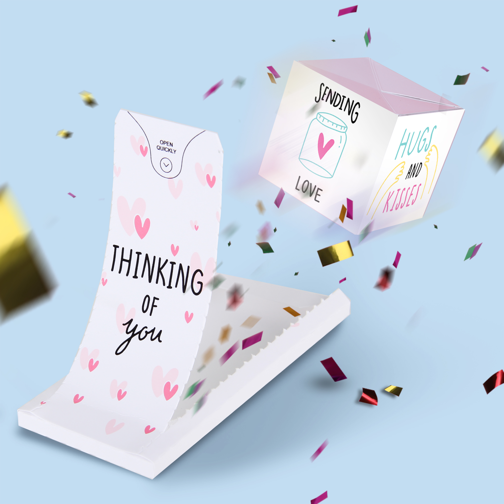 Boom card - Thinking of you
