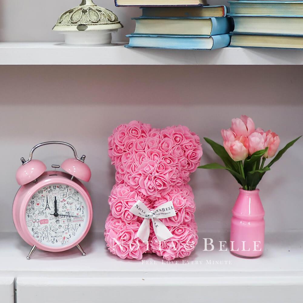 Rosa Bären aus den Rosen - 25 sm