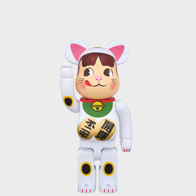 BEARBRICK FRIEND CAT PECO-CHAN 400% фото