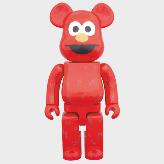 BEARBRICK ELMO 1000% фото