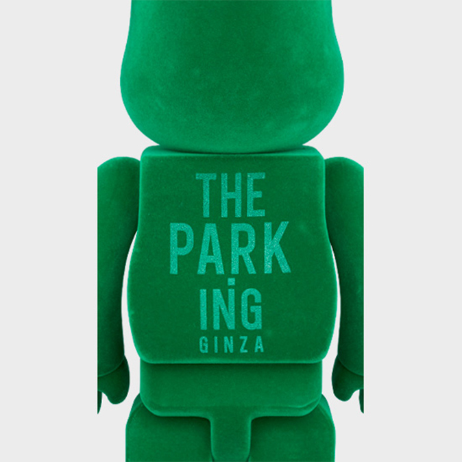 BEARBRICK FRAGMENT DESIGN THE PARK・ING GINZA 400%