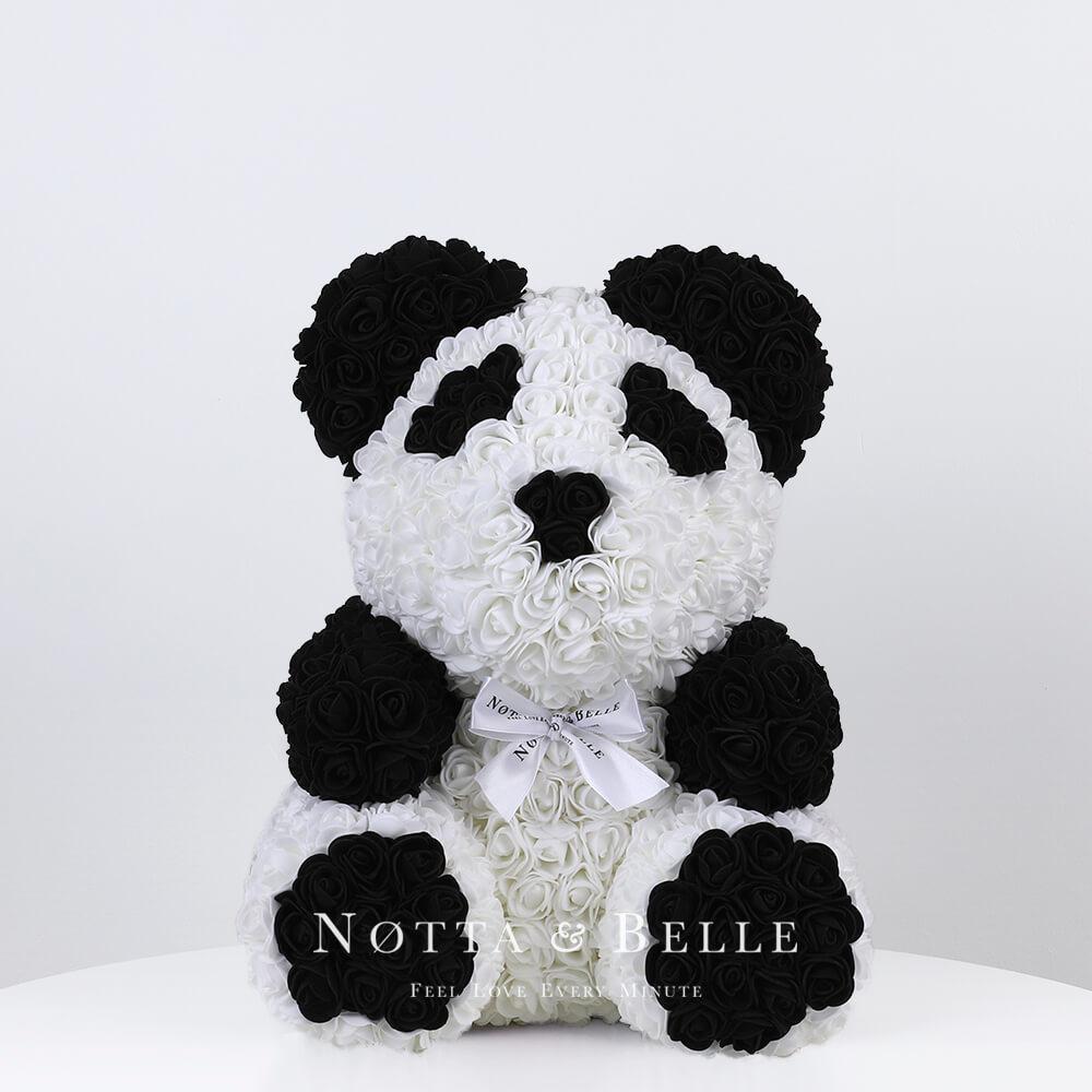 Mishka iz roz Panda - 35 sm