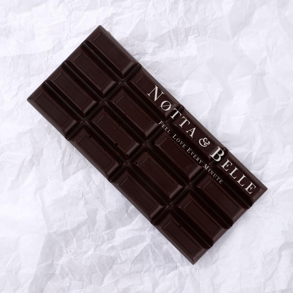 Plitka gorykogo shokolada ot Notta Belle