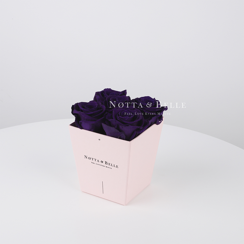 Dolgovechnyy buket № 051 iz fioletovyh roz - 5 sht [copy]