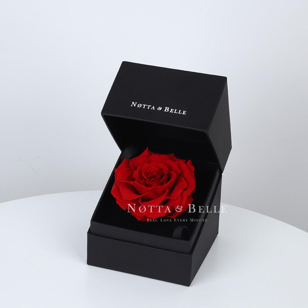 Krasnaya roza Mini v korobke [copy]