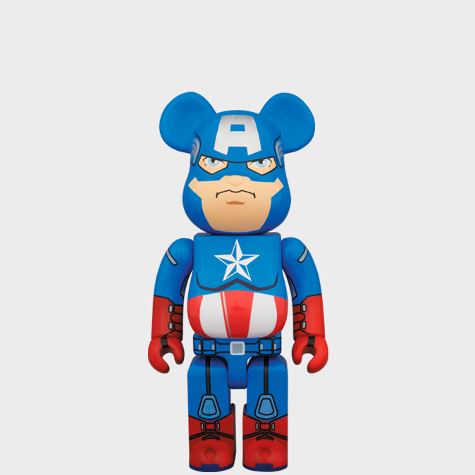 BEARBRICK CAPTAIN AMERICA 400%