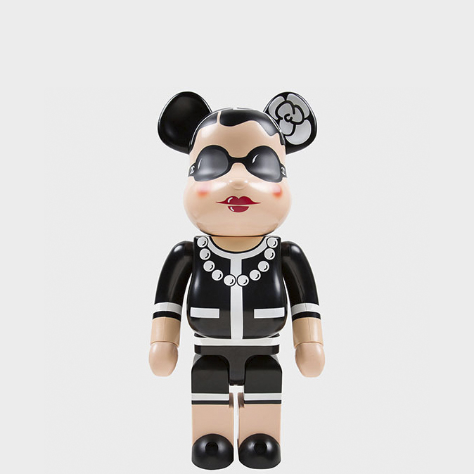 BEARBRICK CHANEL 400% фото