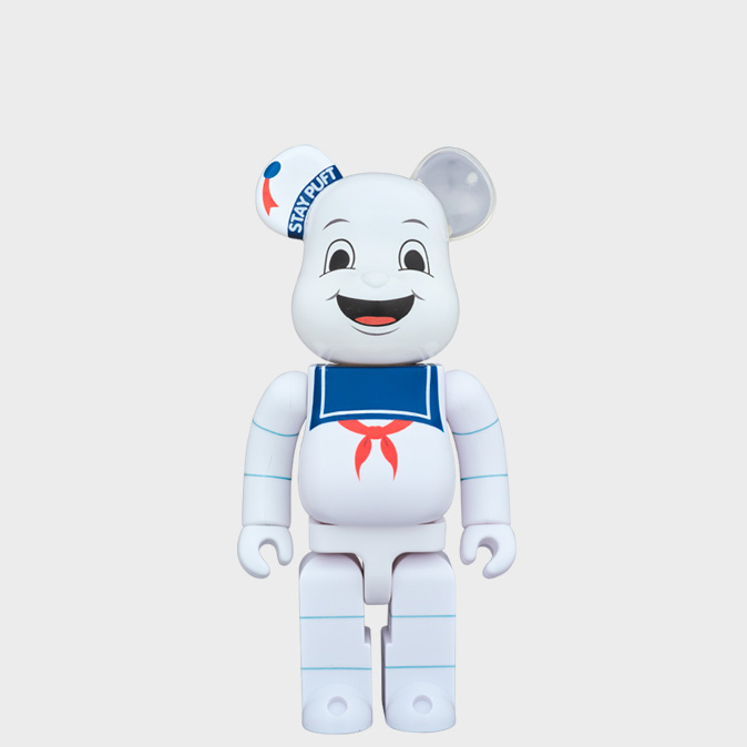 BEARBRICK STAY PUFT MARSHMALLOW MAN 400%
