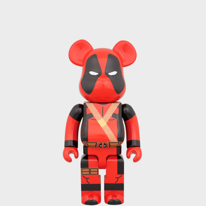 BEARBRICK DEADPOOL 400% фото