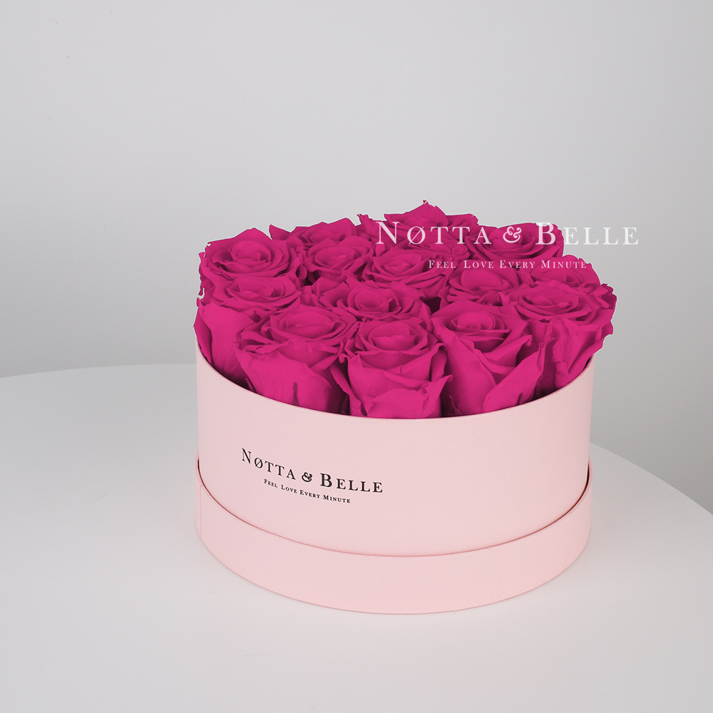Fuchsia bouquet «Princess» - 15 roses