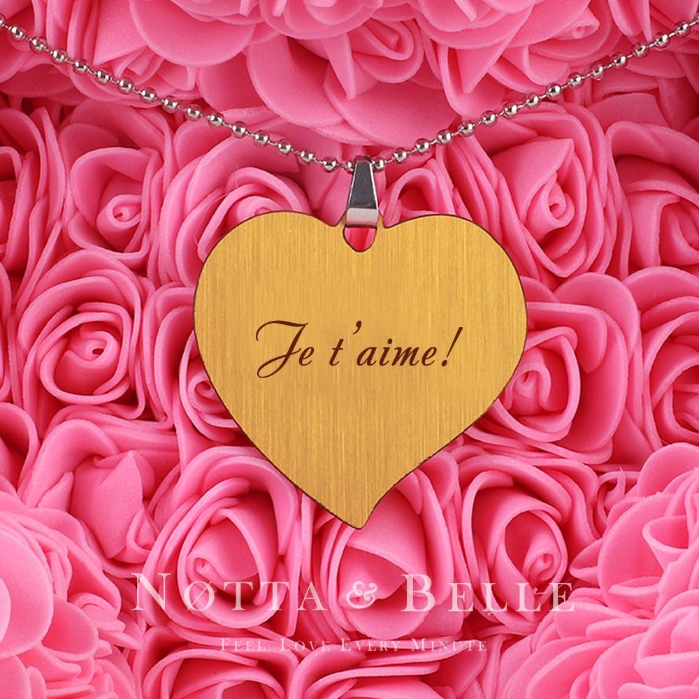 Gravure «Je t'aime !»