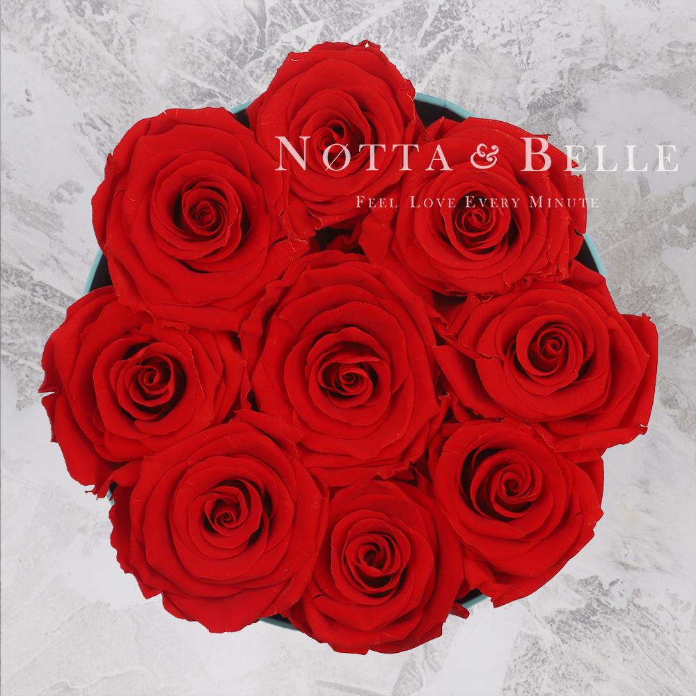 Bouquet rouge «Princess» - 9 roses