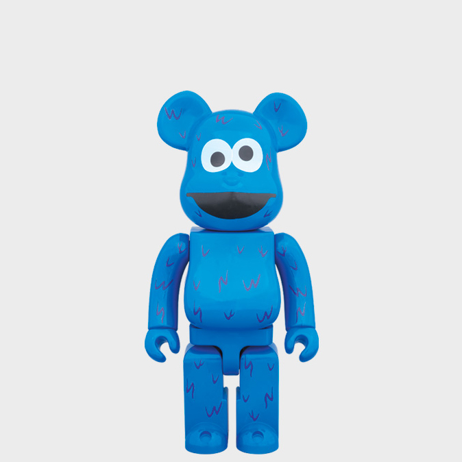 BEARBRICK COOKIE MONSTER 400%
