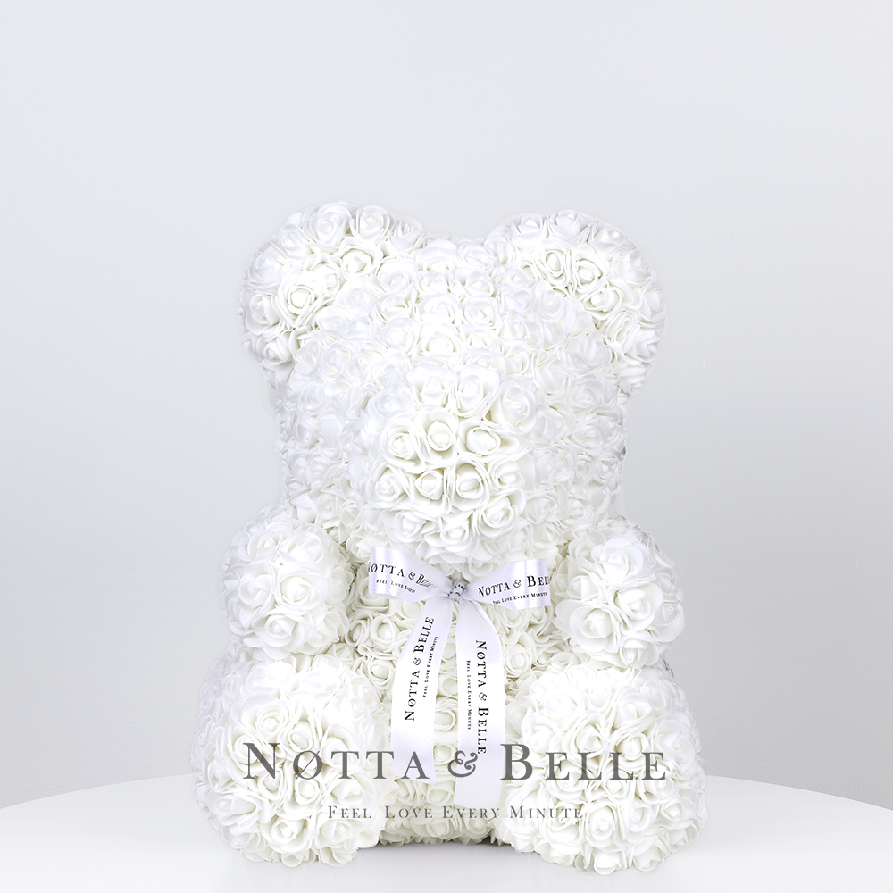 White Rose Bears - 14 in. (35cm)