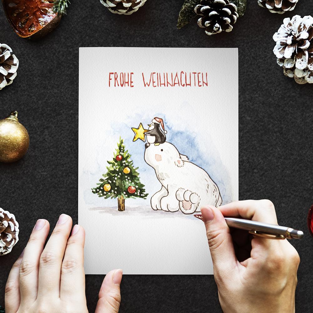 Weihnachtskarte №6