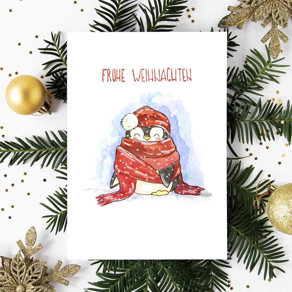 Weihnachtskarte №5