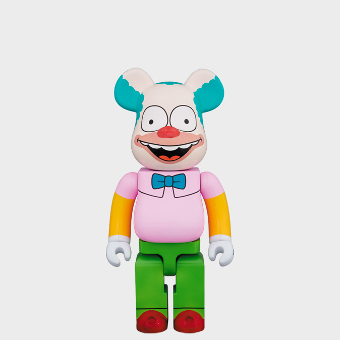 BEARBRICK KRUSTY THE CLOWN 400% фото