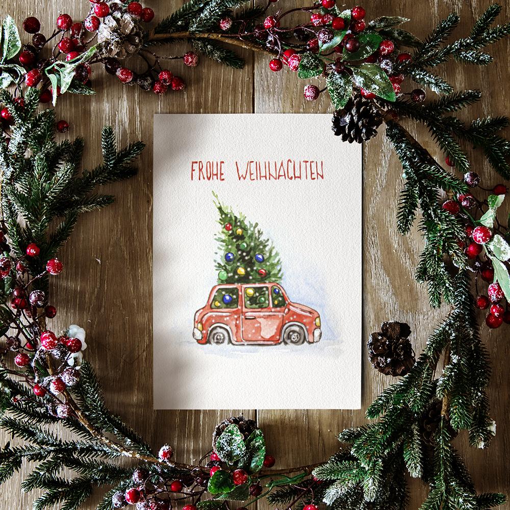 Weihnachtskarte №4