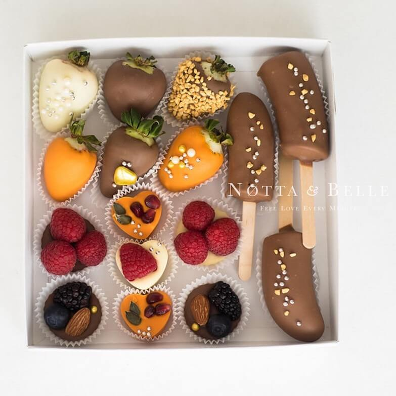 Ягоды в шоколаде - Ассорти №5