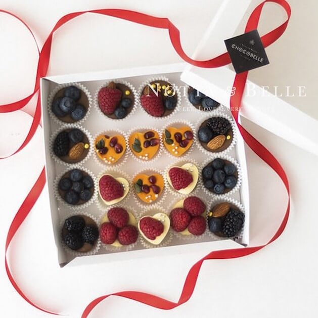 Набор №9 - Ягоды в шоколаде