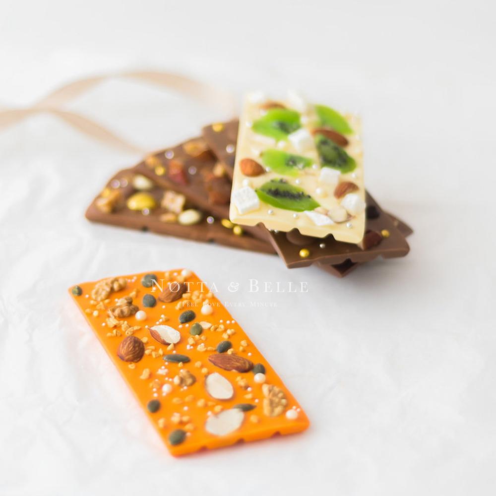 Апельсиновая плитка шоколада от Notta & Belle