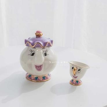 Чайный набор - «Красавица и чудовище»