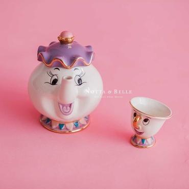 Tea set The beauty and the Beast