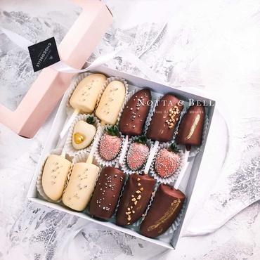Ягоды под шоколадом - Ассорти из 14 конфет