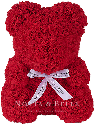 Home & Garden Artificial & Dried Flowers Latest Collection Of Romantic Rose Bear Toy Women Girls Soap Flower Birthday Wedding Decoration Party Anniversary Valentines Day Gift For Girlfriend Pleasant In After-Taste